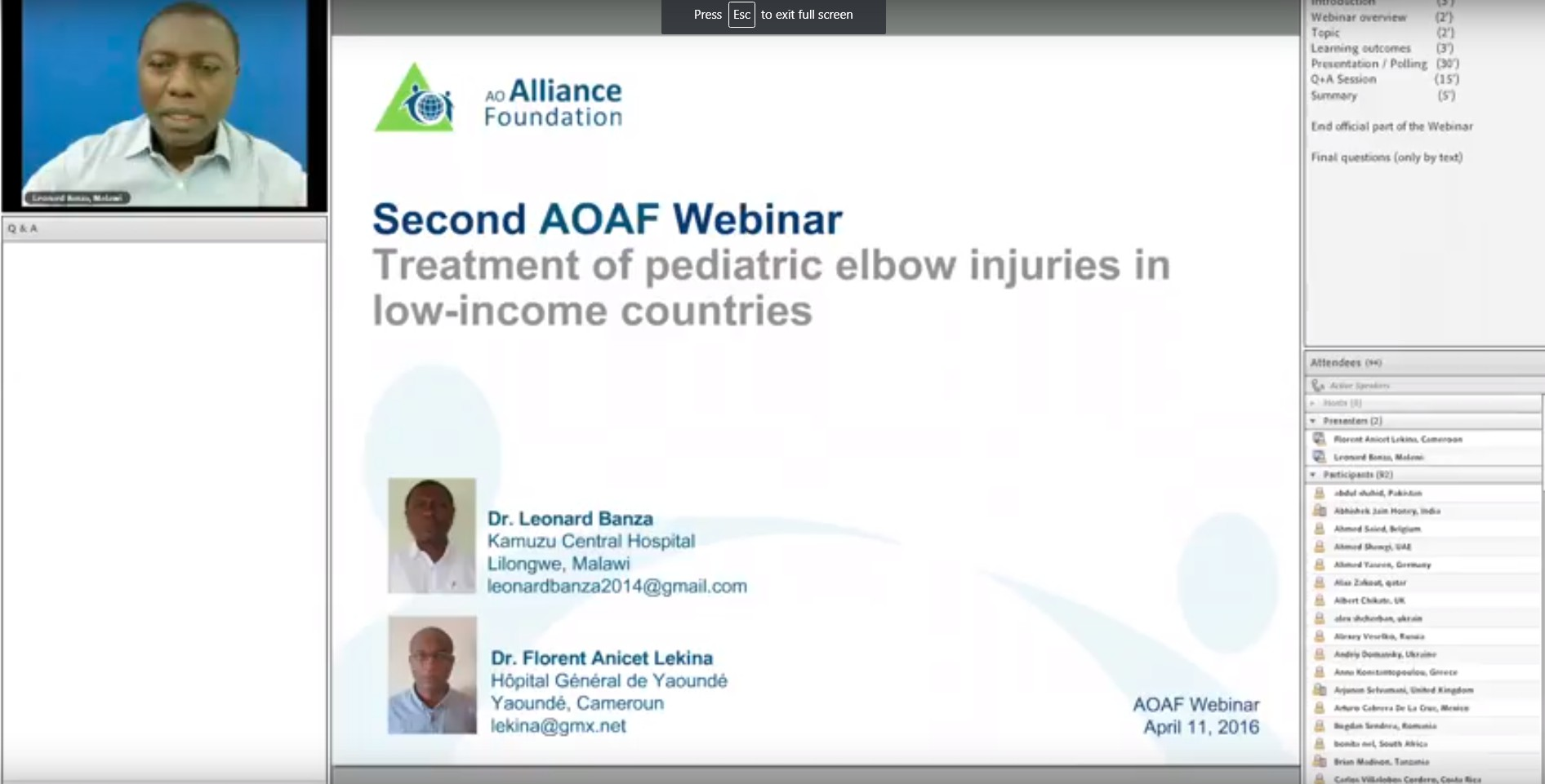 Treatment of pediatric elbow injuries in LICs
