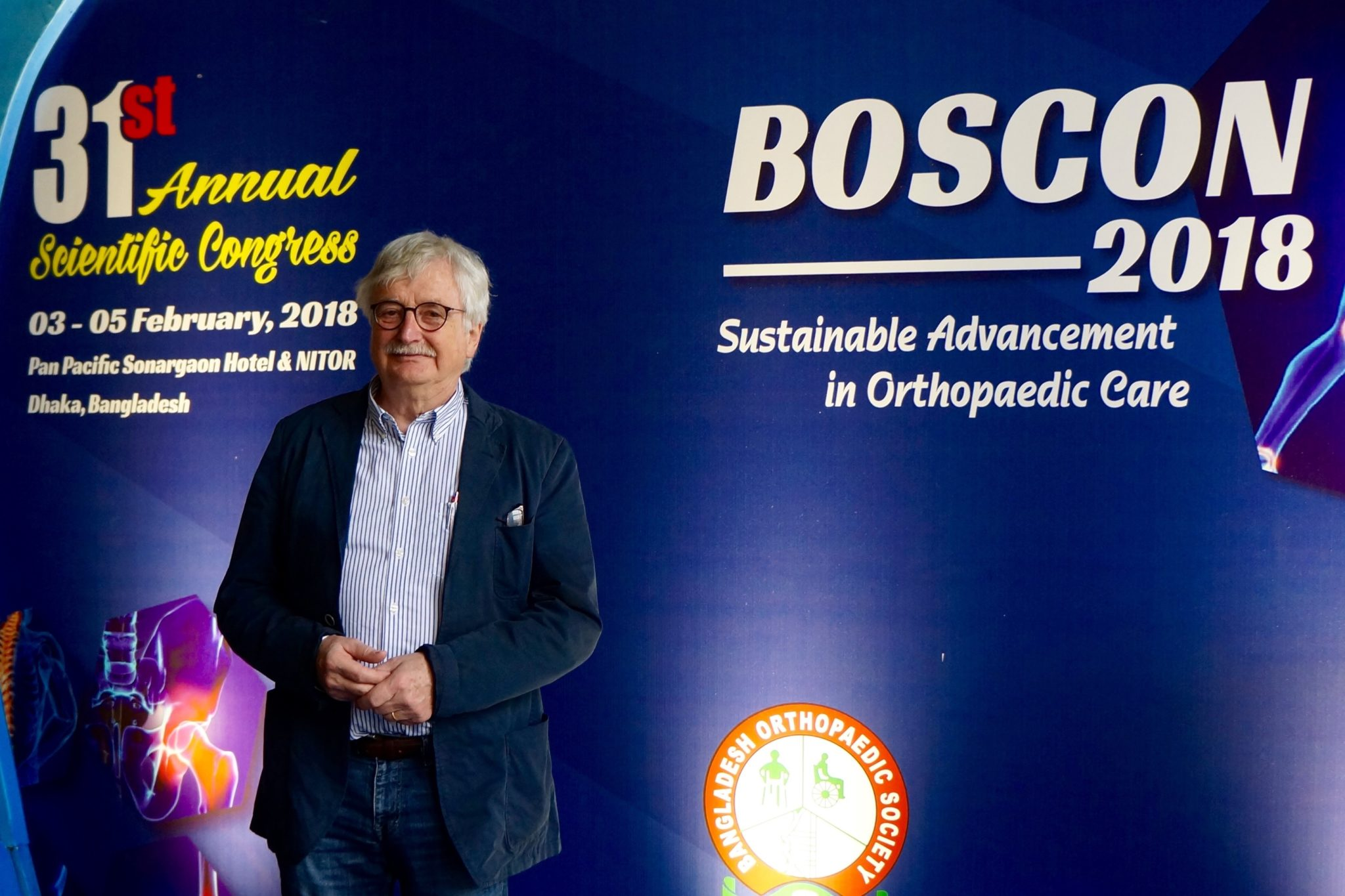 prof. Heiner Winker recounts his experience at Orthocon and Boscon