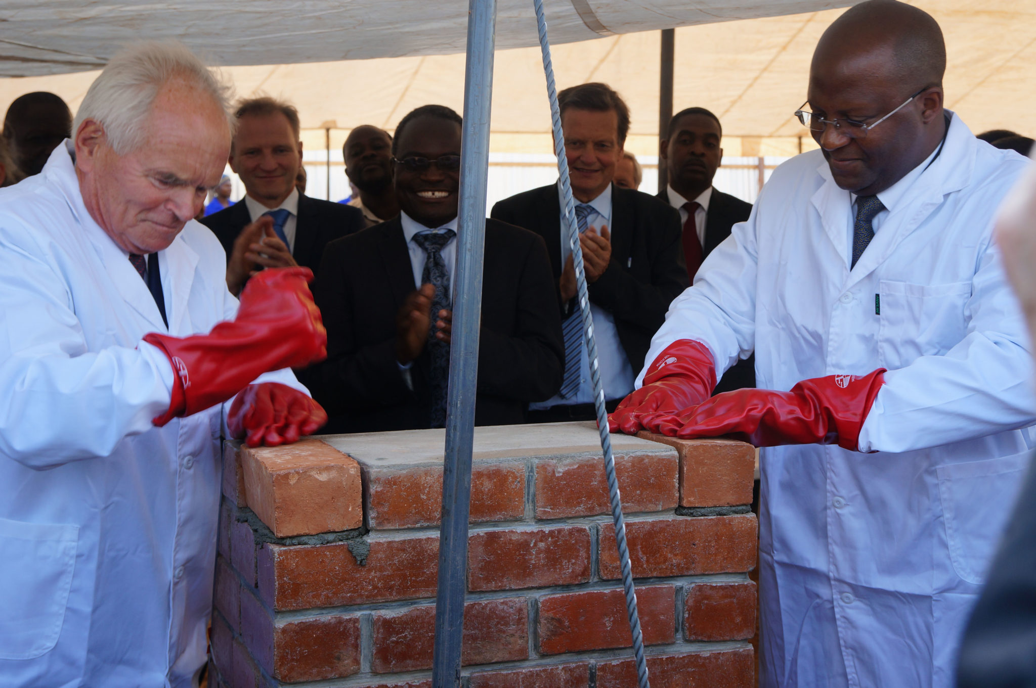 Foundation Stone Laying Ceremony for the Lilongwe Institute of Orthopaedics and Neurosurgery (LION)