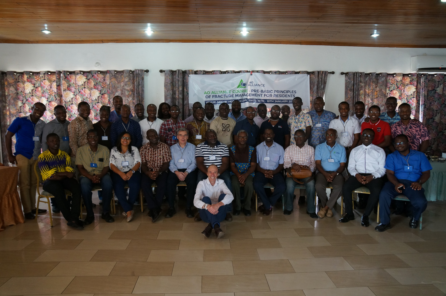 Accra hosts the second AO Alliance Course for junior residents