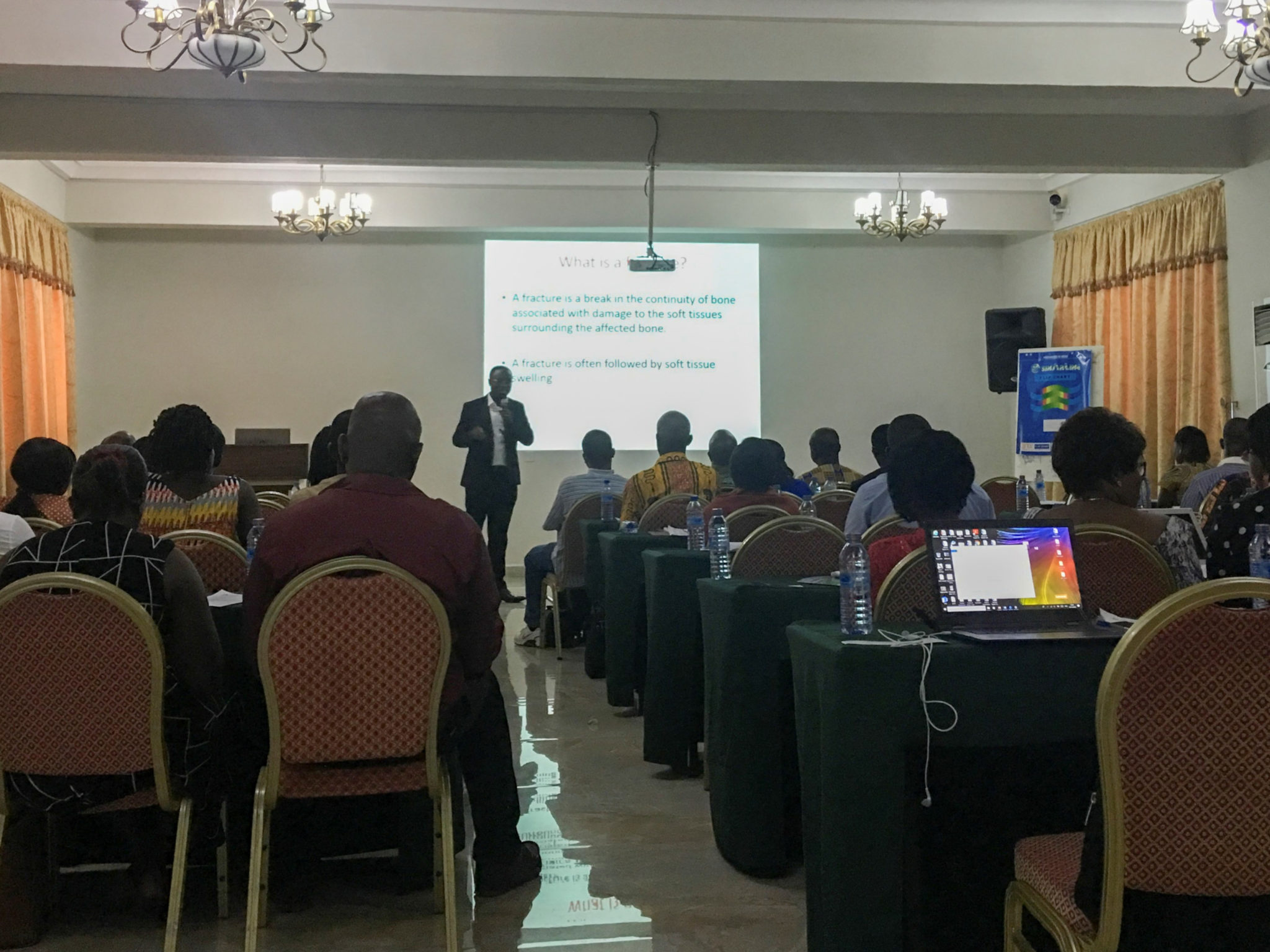 Reporting on Trauma workshop in Ghana a huge success