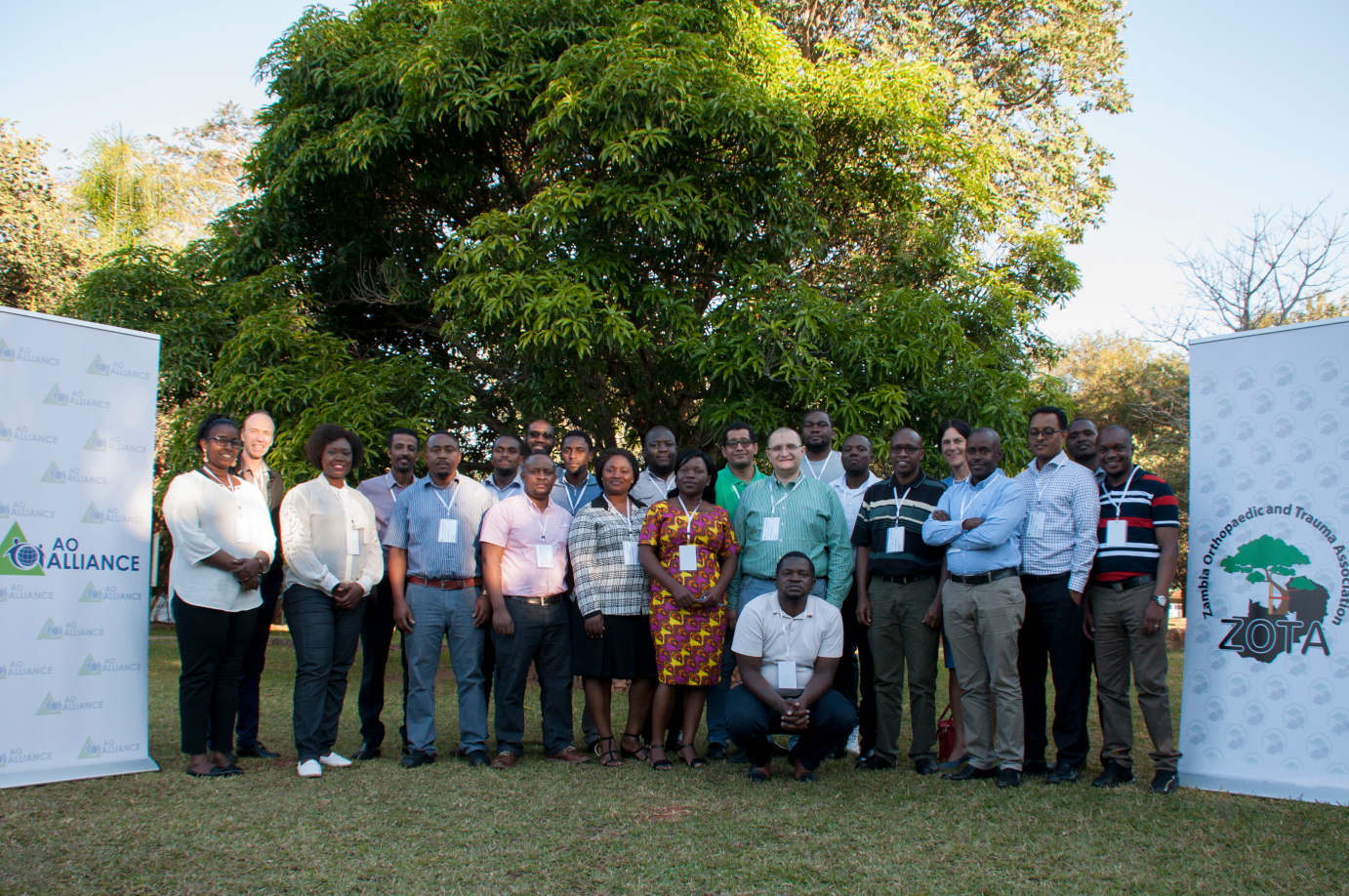 AO Alliance faculty gather in Lusaka to improve their teaching skills