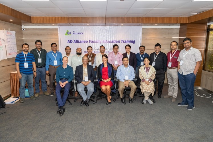 AO Alliance Faculty Education Training conducted in Dhaka, Bangladesh