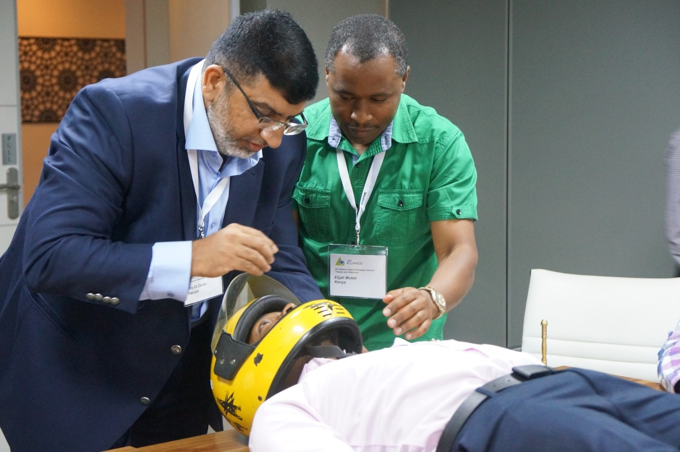 AO Alliance and AOSpine collaborate for better spinal care in Kenya