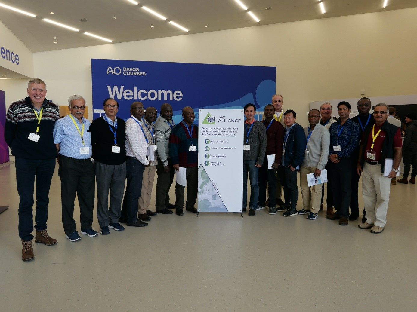 Faculty from Africa and Asia attend AO Education Institute coaching program in Davos