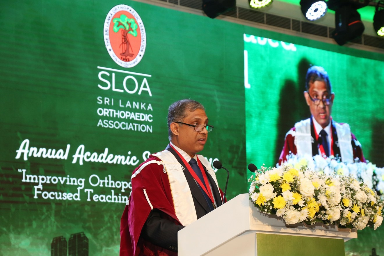 The patient comes first: A powerful message from the Sri Lanka Orthopaedic Association