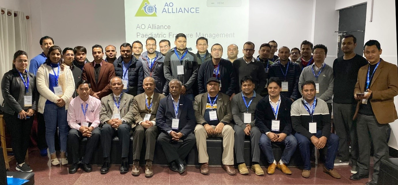 First AO Alliance pediatric fracture care seminar in Nepal launched