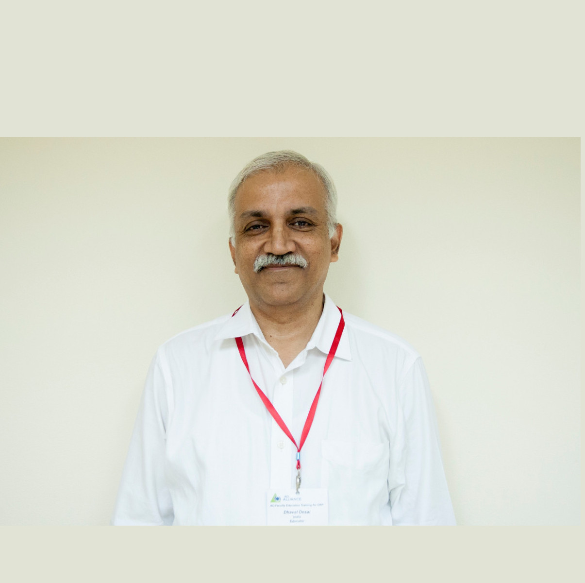 Profile of Dr Dhaval Desai: A longtime AO Alliance faculty member