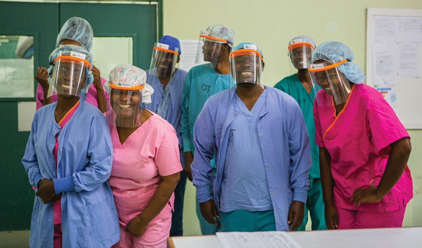Personal protective equipment (PPE) for healthcare workers in Malawi