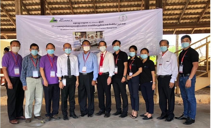 Courses resume in Asia with first hybrid course in Cambodia