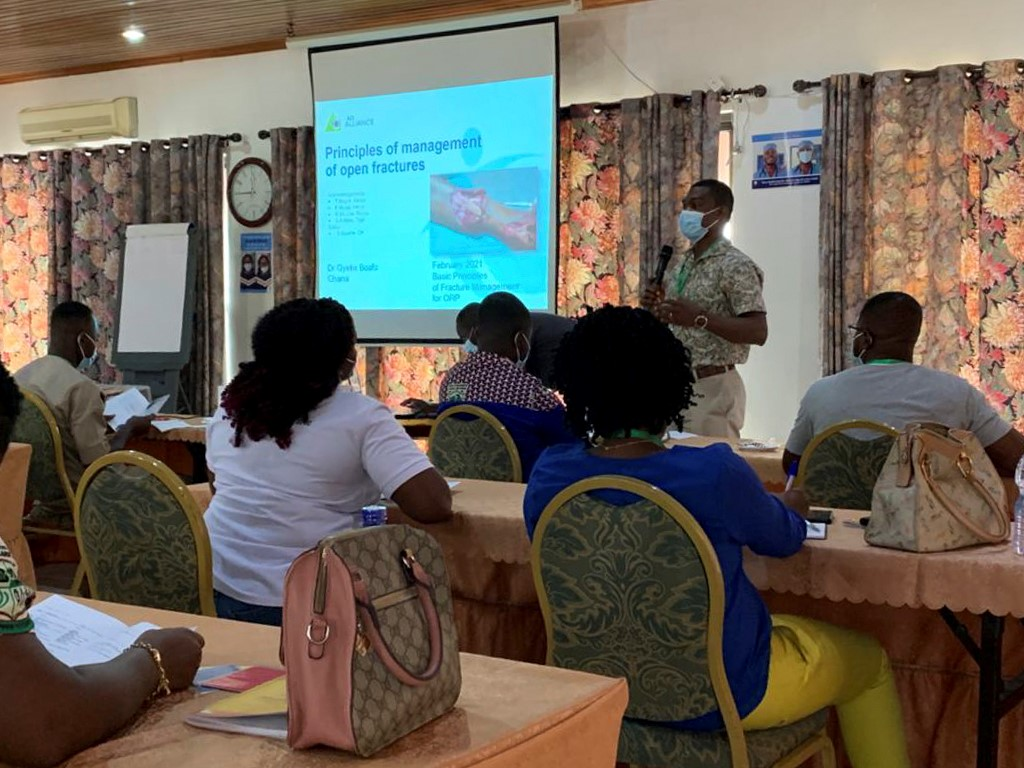 Some face-to-face courses resume in Ghana