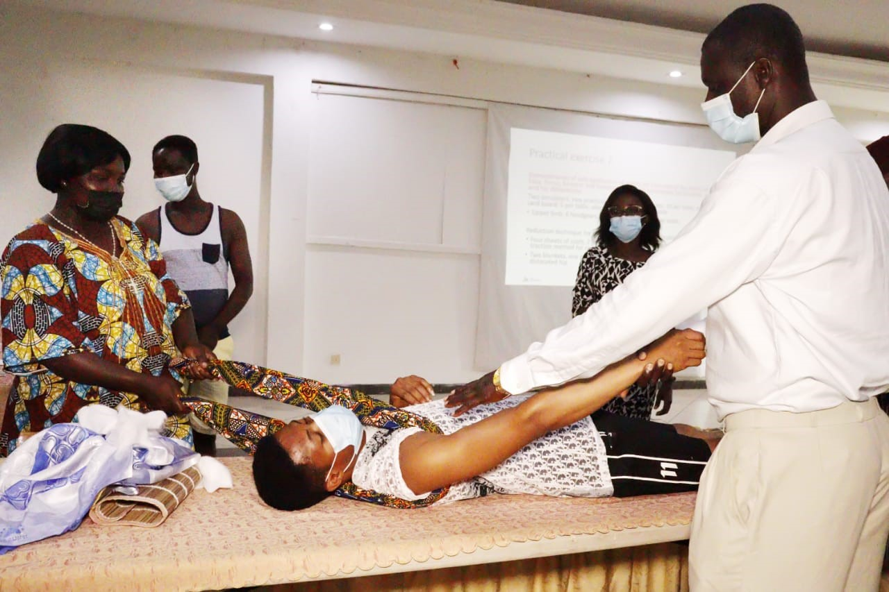 Groundbreaking initiative to train traditional bonesetters launched in Ghana
