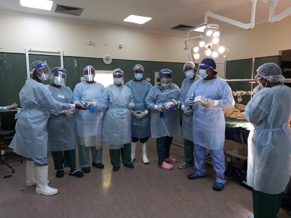 AO Alliance donates PPE to three hospitals in Zimbabwe