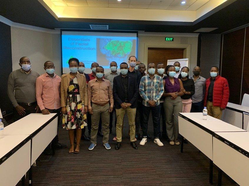 Essentials of facial trauma course in Kigali, Rwanda